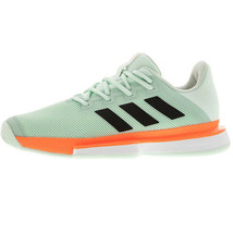 Adidas Sole Match Bounce Men's Tennis Shoes Sports Athletic Green EG2216 - £110.79 GBP