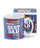 Mr. Dad Ceramic Mug with Box, Multicolor, Burton & Burton - €10,69 EUR