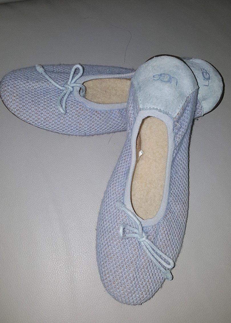3ea6cdc062b UGG AUSTRALIA Light Blue Knit Bow Foldable and 50 similar items