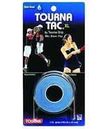 Tourna Tac Tennis Racquet Over Grip 3 XL Blue Overgrips Absorbent Tacky ... - $6.73