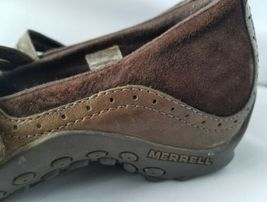 Merrell Performance Plaza Bandeau Chocolate Brown Mary Janes Ortholite Shoes 8 image 8