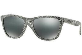 Oakley FROGSKINS Fingerprint Collection Polished White w/Black iridium O... - $148.42