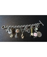 Rock N Roll Hawaiian Charm Bracelet by Lucky Brand 8.5 inches - $55.23