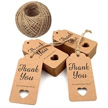 Gift Tags,Baby Shower Tags,Hollow Heart Thank You for Celebrating with U... - $12.70