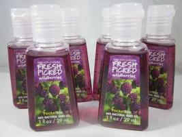6 Bath & Body Works PocketBac Hand Sanitizer Fresh Picked Wildberries  - $24.99
