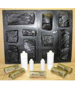 OKL-43K Limestone Veneer Rocks & DIY Supplies Kit+ 43 Molds Make 1000s o... - $519.99