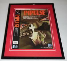 Impulse Framed 8x10 Repro Poster Display William Shatner Ruth Roman - $32.36