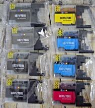 EZ LC71/75XL Ink Cartridges Lot of 8 - $14.84