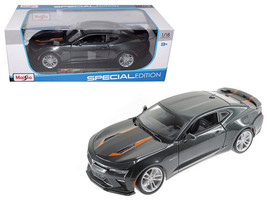 2017 Chevrolet Camaro SS 50th Anniversary Metallic Grey 1/18 Diecast Model - $49.95