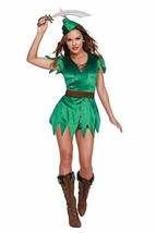 Dreamgirl Mischief in Neverland Peter Pan Adult Womens Halloween Costume... - $43.50