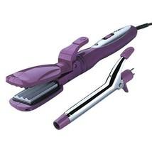 Conair Multi-Tool Styling Kit 2 Heat Reversible Crimper/Straightener/Curler New - $21.99