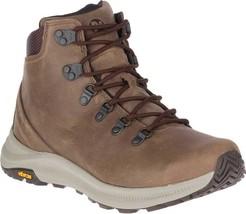 Merrell Ontario Mid Hiker Boot (Men's) in Dark Earth Full Grain Leather ... - $170.05