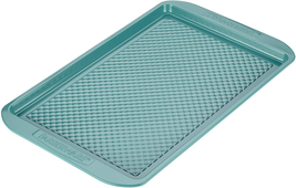 46328 Ceramic Nonstick Bakeware Nonstick Cookie Sheet Baking Sheet Aqua ... - $23.04