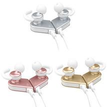 Magnetic Bluetooth Headphones Wireless Stereo Headset Earbuds Earphone U... - $39.99