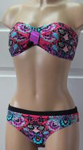 NEW Nanette Lepore NL6DM93 Bali Batik Swimwear Bikini 2pcs Set M Med NO ... - $63.35