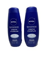 2 Nivea Creme Moisture Moisturizing Body Wash 16.9 Oz New N1 - $21.13