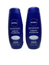 2 Nivea Creme Moisture Moisturizing Body Wash 16.9 Oz New N1 - $19.46