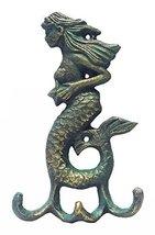 Iron Verdigris Mermaid Hook image 2
