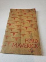 1975 Ford Maverick Owners Manual Factory Glove Box Nice Original - $13.79