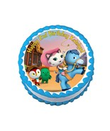 SHERIFF CALLIE'S WILD WEST *ROUND* edible cake image party topper decora... - $7.80