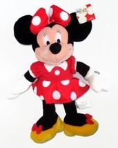 "Disney Store Minnie Mouse Polka Dot Dress Plush 15"" NEW NWT - $59.99"
