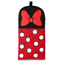 Disney Parks I am Minnie Mouse Oven Mitt Pot Holder Bow New With Tag - $17.26