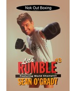 Nok Out #3 Boxing Rumble DVD Sean O'Grady sparring & fighting techniques - $23.50