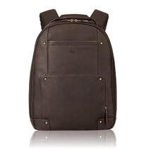 Solo Reade 15.6 Inch Vintage Columbian Leather Backpack, Espresso - $90.28