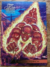 Marvel Flair Annual 1995 #79 Human Torch Single Card - $4.99