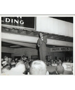 JOHN F KENNEDY TYPE 1 8X10 CAMPAIGN 2 PHOTOS BY WOODYS STUDIO IN W. VIRG... - $18.80