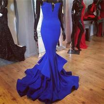 L blue mermaid prom dresses long sexy party evening gowns custom made black.jpg 640x640 thumb200