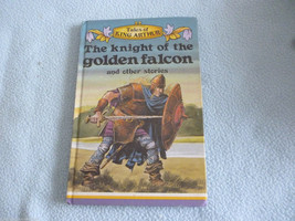 Vintage 1977 Lady Bird Book The Knight Of The Golden Falcon series 740 - $7.64