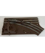 Lionel 6-65022 O27 Scale Right Hand Manual Switch Turnout Brown Vintage ... - $25.55