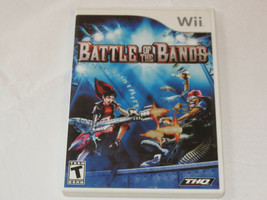 Battle Of The Bands Nintendo Wii 2008 Video Game T-Teen Action Aventure - $15.93