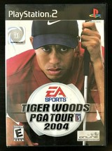 Tiger Woods PGA Tour 2004 (Sony PlayStation 2, 2003) Complete & Tested - $5.85