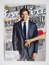 ESQUIRE Magazine June/July 2011 Bradley Cooper Cover Vol 155 No 5 & 6 - $5.73