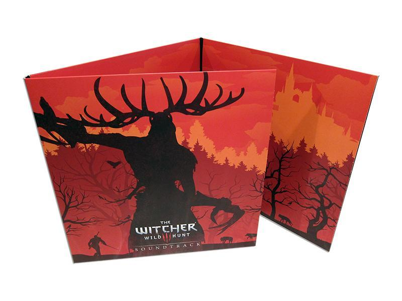 The Witcher 3 Original Game Vinyl Record Soundtrack 4 LP Complete Edition Clear