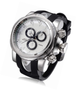 Mens Big Heavy Analog Quartz Watch Silicone Band - $50.99