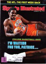 Sports Illustrated Magazine, November 29, 1982, College Basketball Issue - $3.25