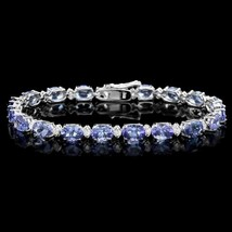 Tanzanite and diamond bracelet thumb200