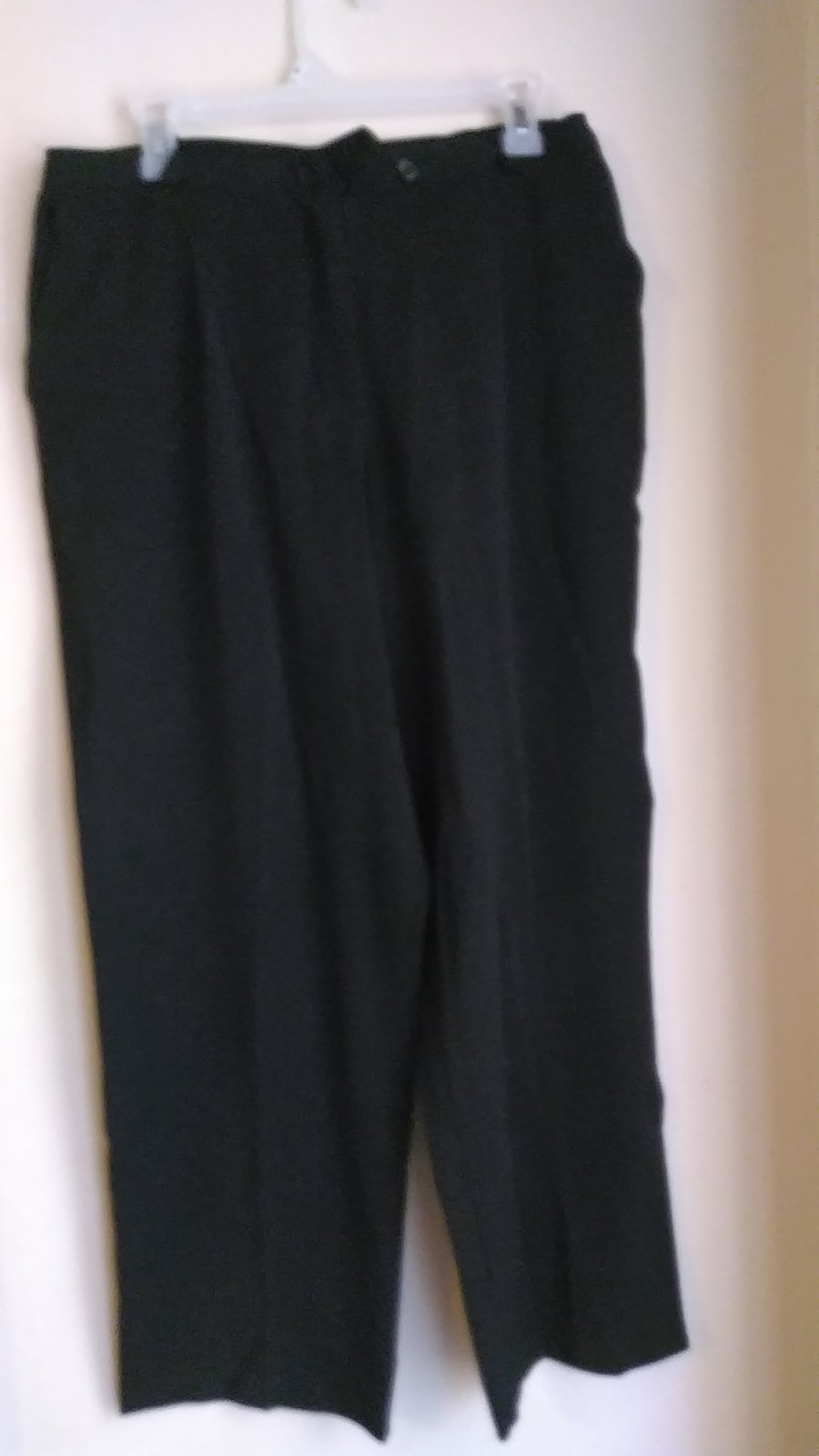 womens size 16 black casual pants VMH276
