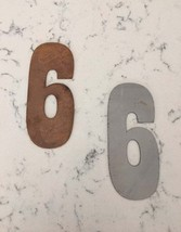6 Inch Clock Numbers 1-12 - $23.00