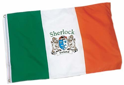 Primary image for Sherlock Irish Coat of Arms Flag - 3'x5' Foot