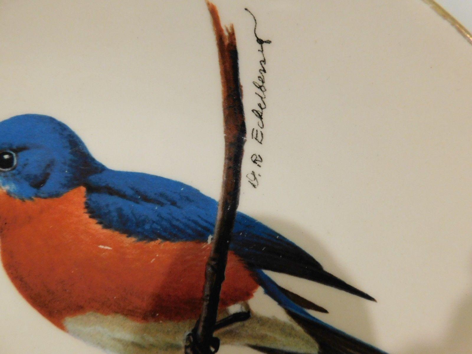AVON Bluebird North American Songbird Collector Plate