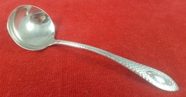 Silverplate Sauce Ladle in Spartan by WIlliams Bros Mfg Co. Vintage Flat... - $14.84