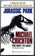 Michael Crichton JURASSIC PARK first paperback edition. Unread. Nice con... - $44.10
