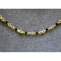 Crystal Beaded Chain Bracelet image 1
