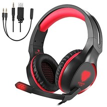 EiSoku Gaming Headset ps4 for pc HEIGH PHONE with Microphone Noise Reduc... - $37.90