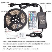 WenTop Led Strip Lights Kit DC 12v UL Listed Power Supply Nonwaterproof SMD - $31.64