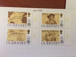 Guernsey Europa 1992  mnh   stamps  - $3.40